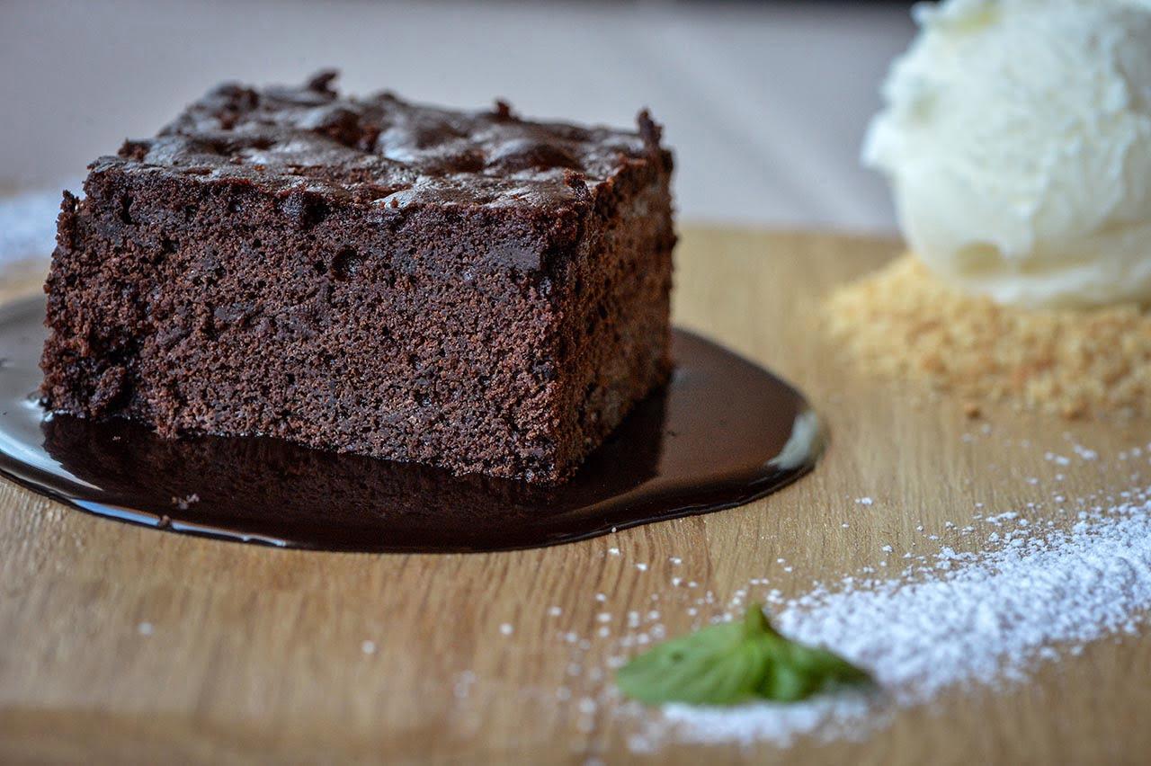 Brownies με παγωτό