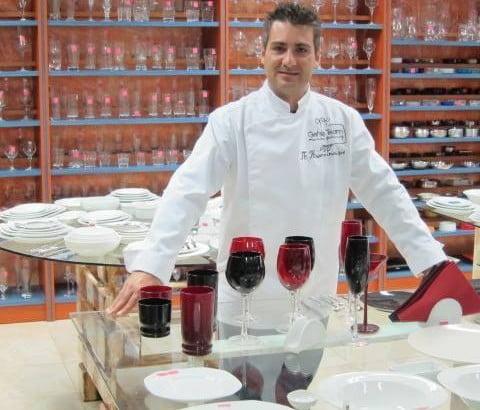 Chef Paris Kostopoulos